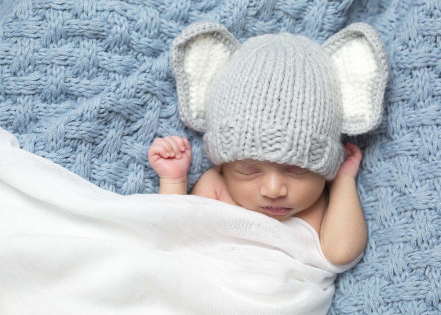 indian newborn baby