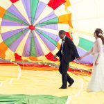 hot air balloon exit wedding cazenovia new york inside explore walking